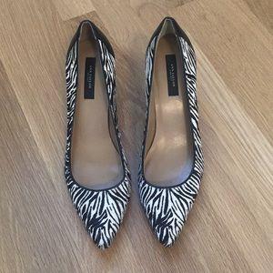 Ann Taylor zebra pumps